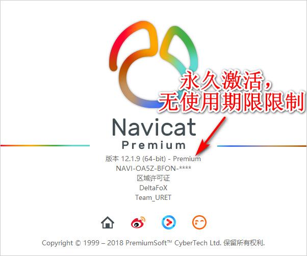 最强大的数据库管理利器Navicat Premium v12.1.11中文破解版
