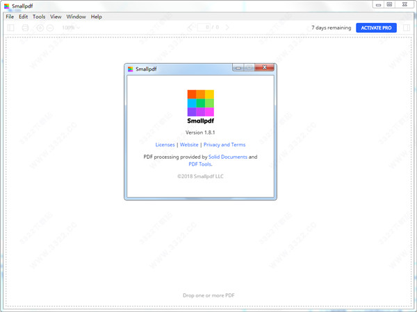 多功能PDF工具软件 Smallpdf破解版 注册机