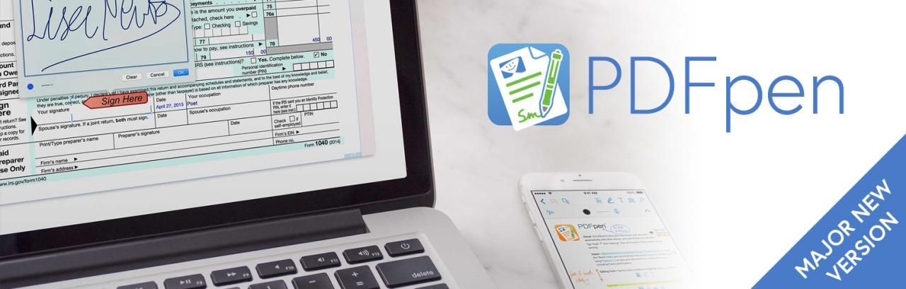 PDFpenPro 10.2.3  for Mac破解版 强大的PDF编辑软件