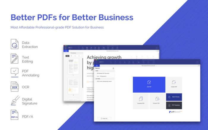 Wondershare PDFelement 1.2.1 for mac破解版 强大的PDF阅读编辑器