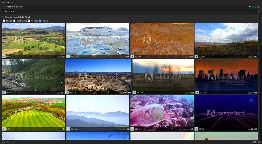 创意资源Adobe Stock视频