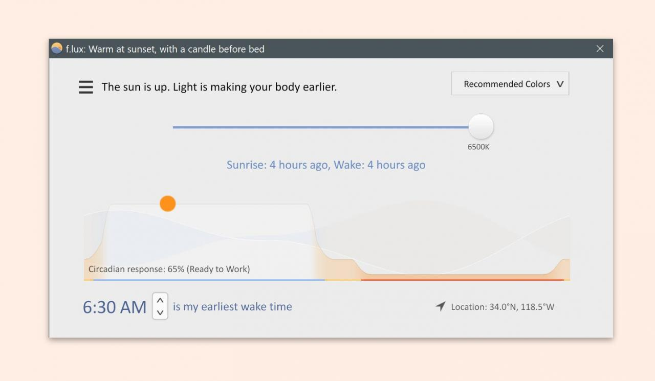 f.lux: software to make your life better